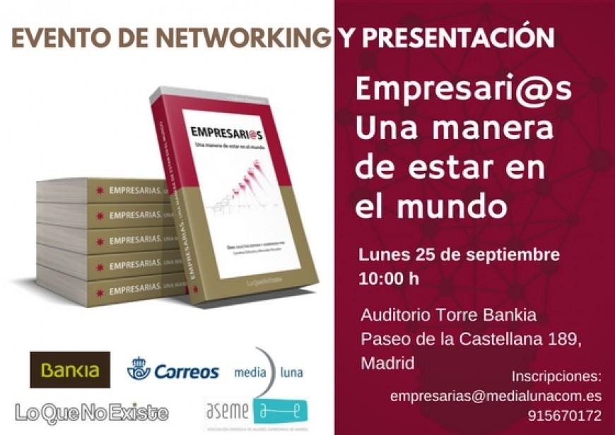 """Este lunes 25 es la presentacion de nuestro libro """"Empresari@s, una manera de estar en el mundo"""""""