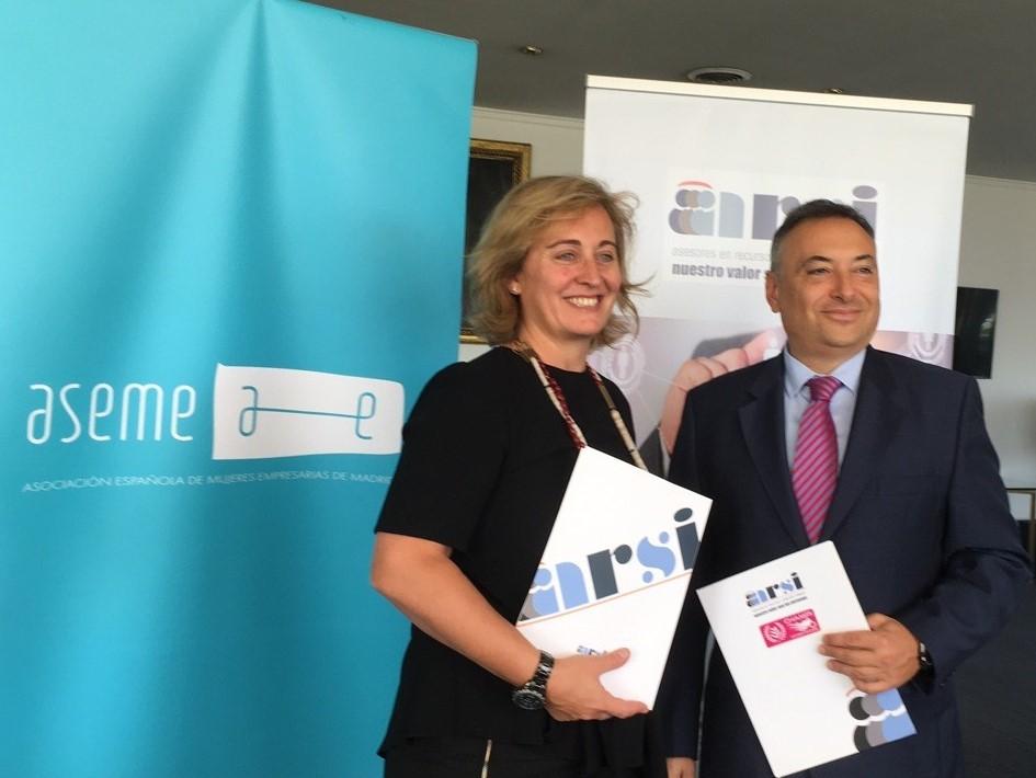 ASEME firma un convenio de colaboración con ARSI SPAIN