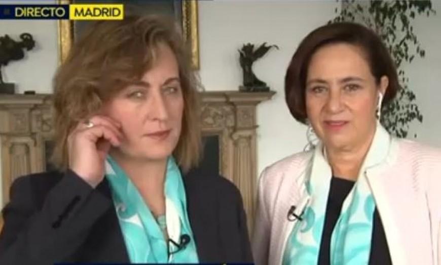 (video) Eva Serrano y Gricel Garrido son entrevistadas en Espejo Público sobre la brecha salarial