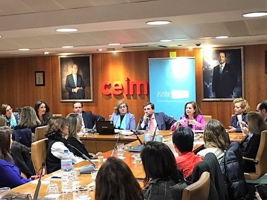 ASEME y CEIM celebran el Día Internacional de la Mujer, promoviendo la educación, formación y conciliación