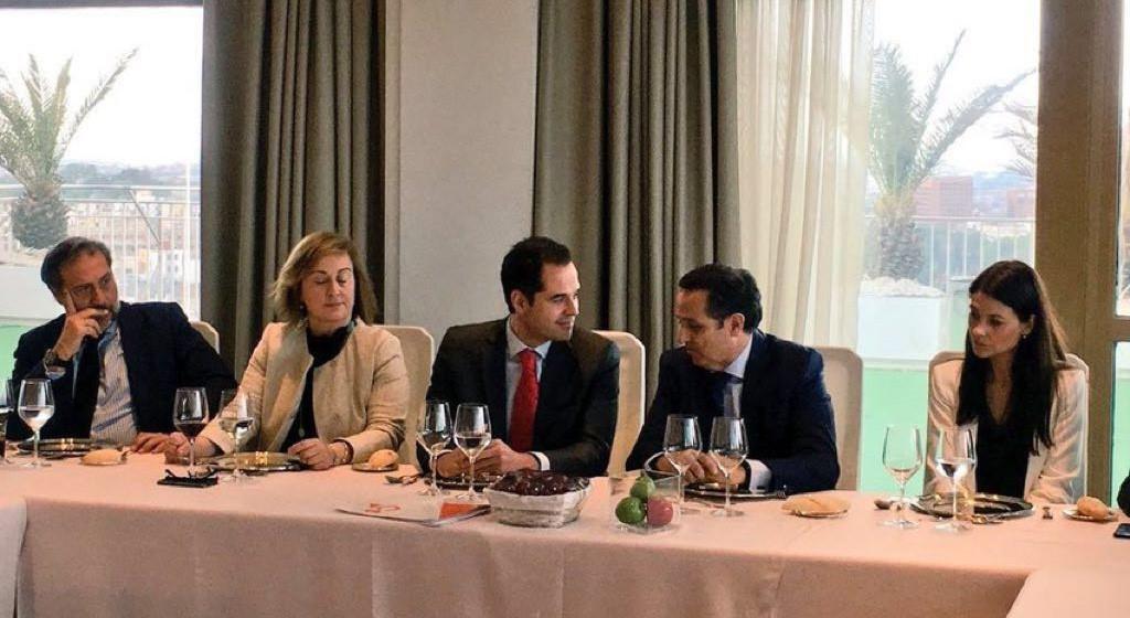 ASEME en el almuerzo de los empresarios madrileños con Ignacio Aguado