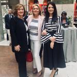 Foto; Eva Serrano, presidenta de ASEME, María José Pérez Cejuela, Directora de Comercio de la Comunidad de Madrid y Susana Reiz, Vicepresidenta de Asociación de Jóvenes Empresarios de Madrid