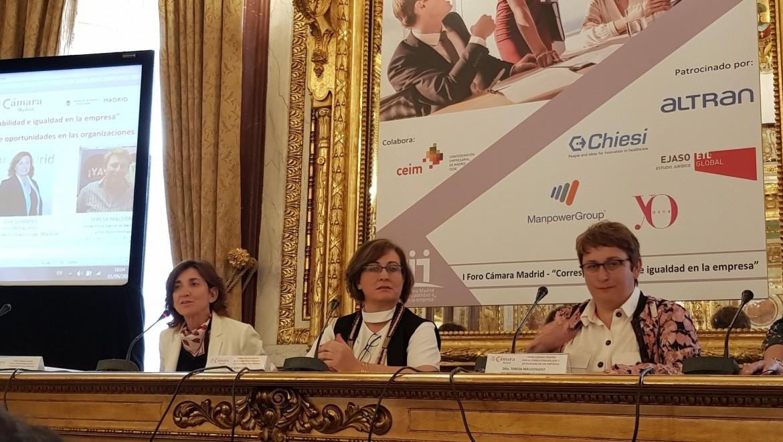 ASEME participa en el I Foro de la Corresponsabilidad e Igualdad en las empresas madrileñas