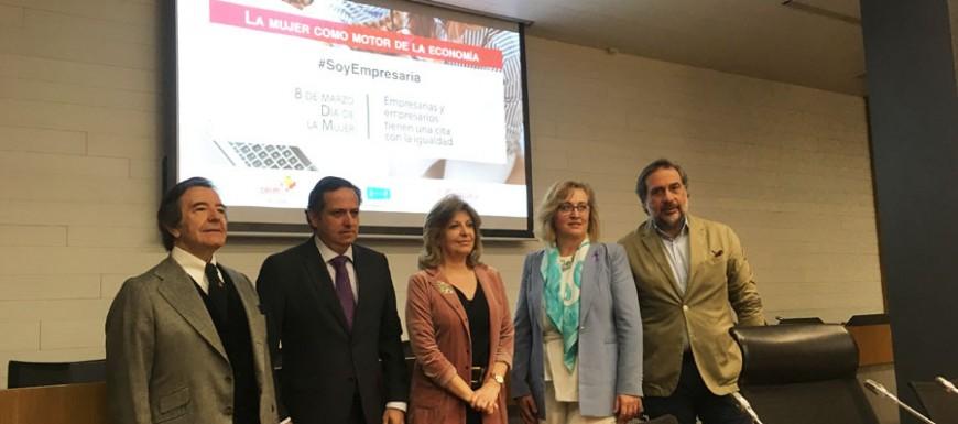 Empresarias y empresarios de Madrid reivindican una sociedad 50-50
