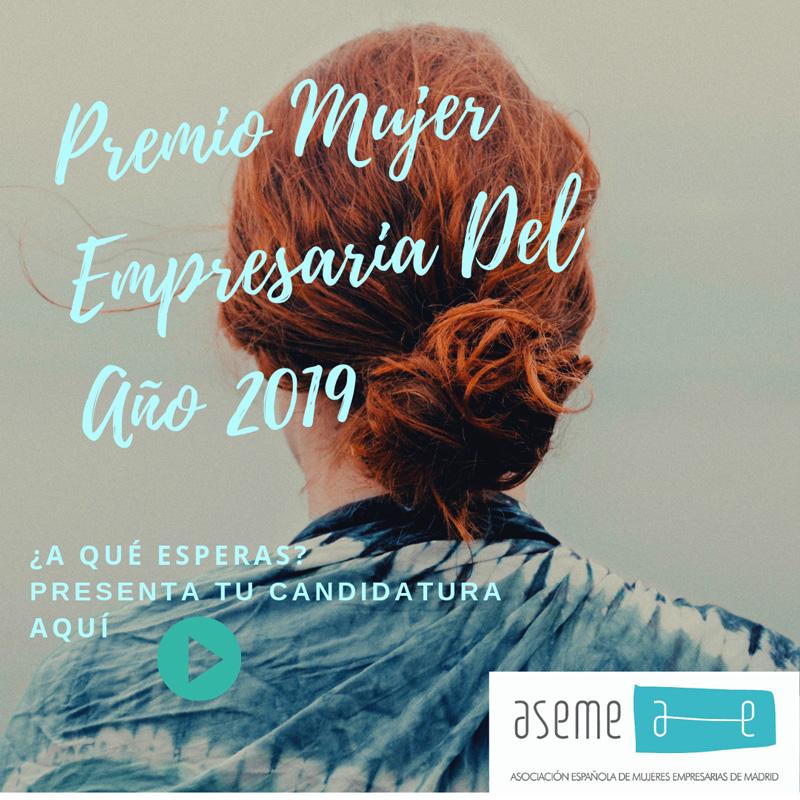 PREMIOS MUJER EMPRESARIA 2019