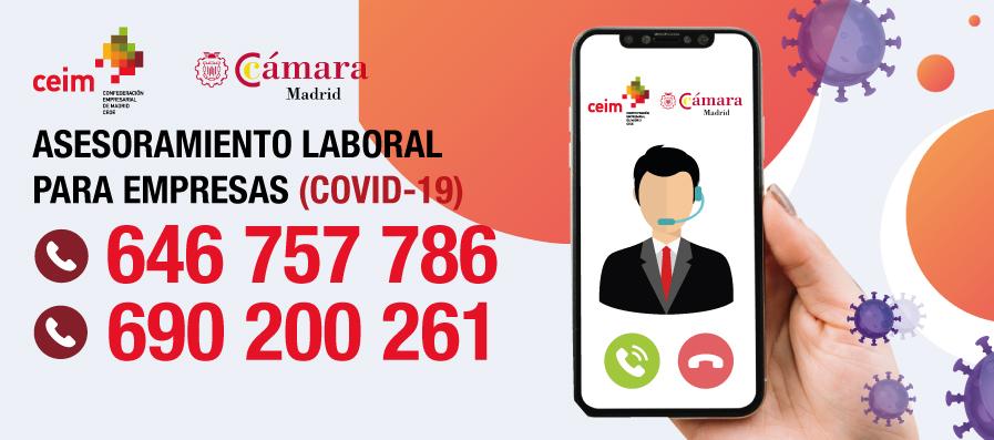 Asesoramiento Laboral para Empresas –  Cámara de Madrid y CEM