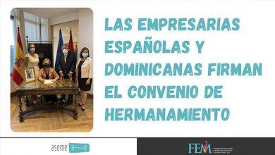 Las empresarias españolas y dominicanas firman el convenio de hermanamiento